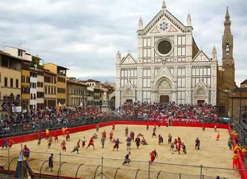 Een Florentijnse traditie: het calcio storico Fiorentino