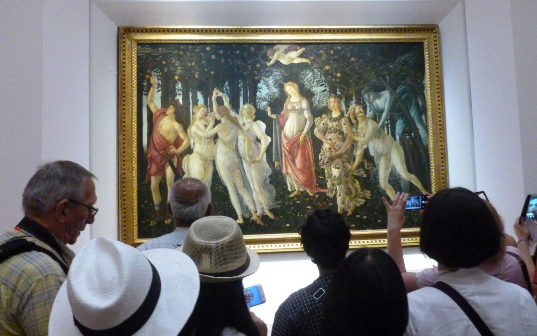 Uffizi: Werk in Uitvoering