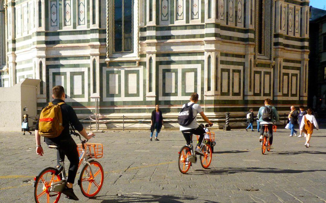 Mobikes: zegen of plaag voor Florence?