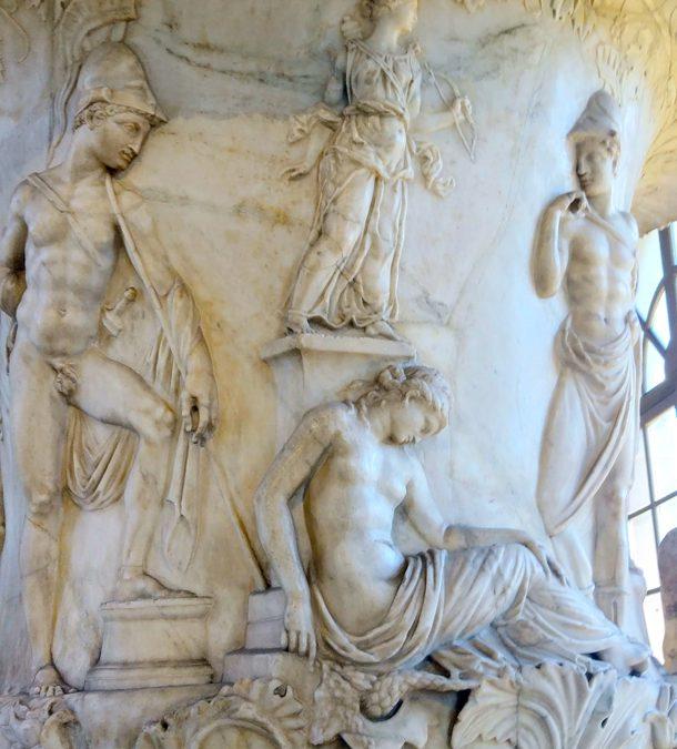 De klassieke beeldencollectie van het Uffizi
