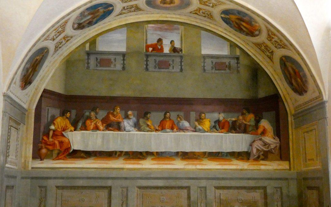De triomf van de schoonheid: het Cenakel van Andrea del Sarto